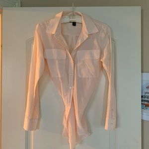 Silk and cotton blouse
